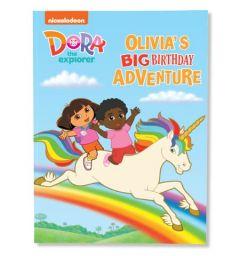 Dora the Explorer custom book