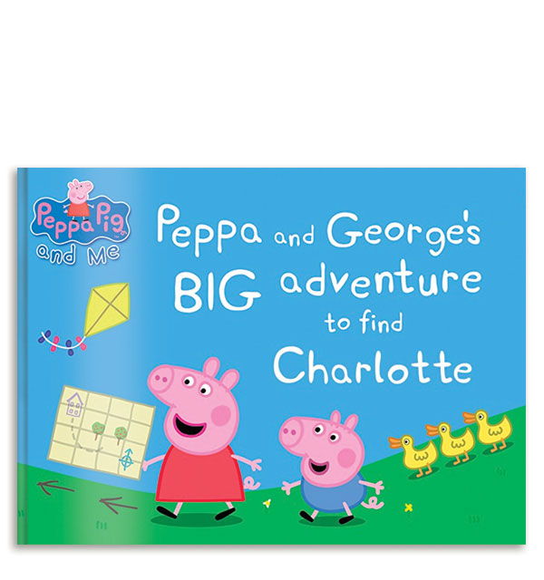 Personalized: Peppa and George's Big Adventure To Find Your Child
