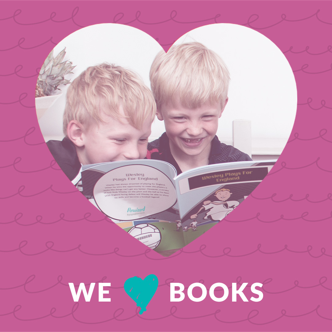 Here's a little something for you to show just how much we love our books...