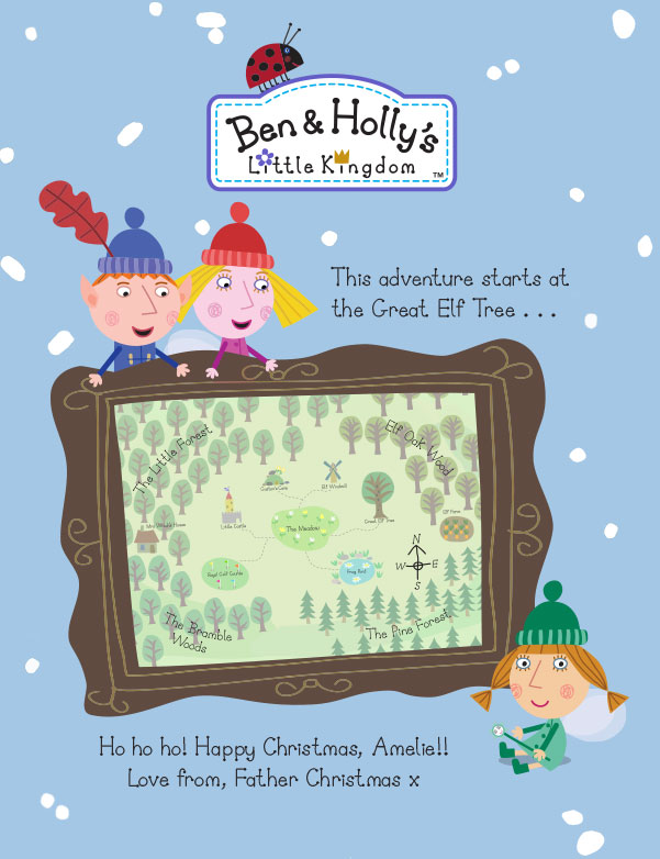 real email address is required to social networks - Ben And Holly Christmas