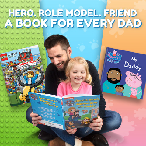 Father's Day Penwizard personalised books