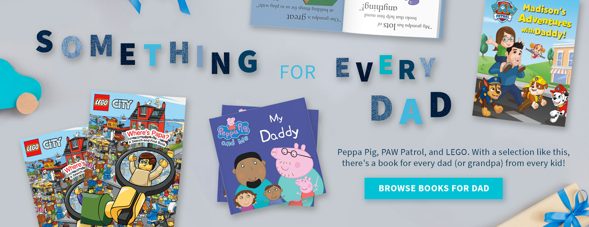 Personalized Father's Day books image