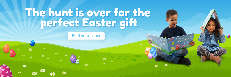 Easter Peppa Pig Penwizard personalised books